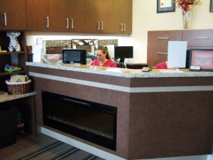 Our staff look forward to welcoming you at our updated dental reception in Newmarket